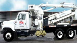 McClain & Co., Inc. - 40ft Underbridge Inspection Unit Bucket Snooper Truck