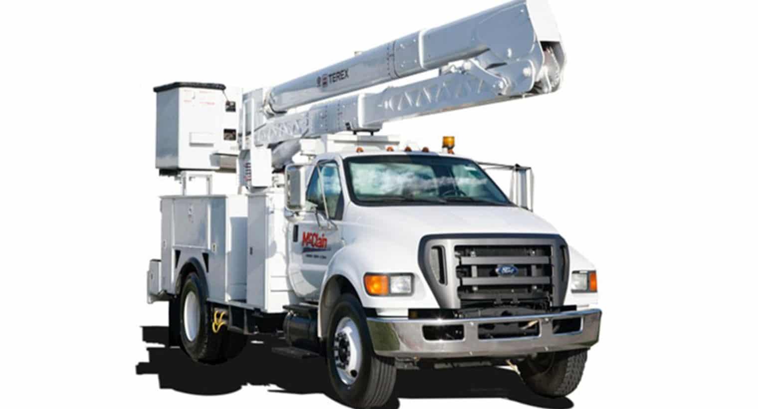 McClain & Co., Inc. - 55ft Bucket Truck Rental