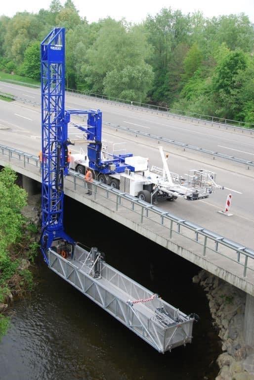 McClain and Co., Inc Under Bridge Inspection Equipment Options
